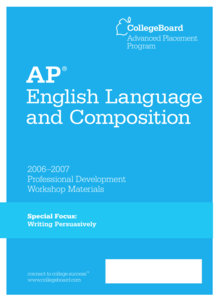 AP® English Language and Composition Special Focus: Writing Persuasively AP Test Prep