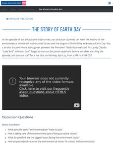 The Story of Earth Day Video