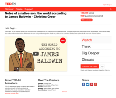 Notes of a Native Son: The World According to James Baldwin Video