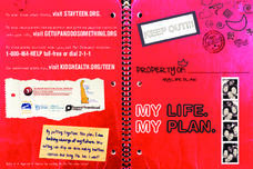 My Life. My Plan. Worksheet