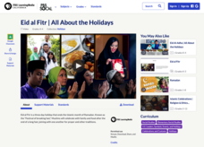 Eid al Fitr | All About the Holidays Video