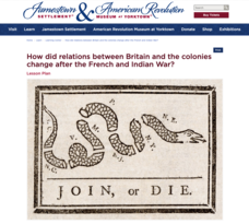 How Did Relations between Britain and the Colonies Change after the French and Indian War? Lesson Plan