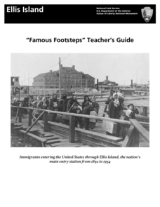 """Famous Footsteps"" Teacher's Guide Lesson Plan"