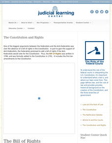 The Constitution and Rights Interactive