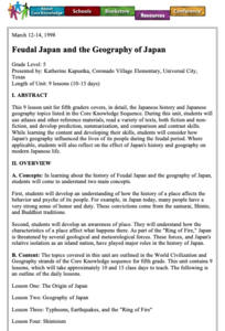 Feudalism Lesson Plans & Worksheets | Lesson Planet