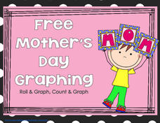 Mother's Day Graphing Activities & Project
