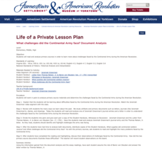 Life of a Private Lesson Plan Lesson Plan