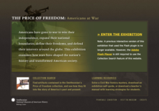 The Price of Freedom: Americans at War Interactive