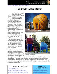 Roadside Attractions (6) Lesson Plan