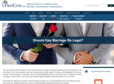 Gay Marriage Handouts & Reference