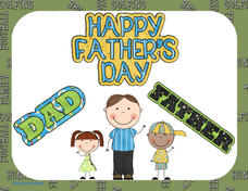 Happy Father's Day Worksheet