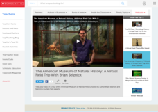 The American Museum of Natural History: A Virtual Field Trip with Brian Selznick Video