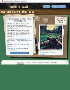 WWII: Western Europe 1939-45 – Resistance and SOE Interactive