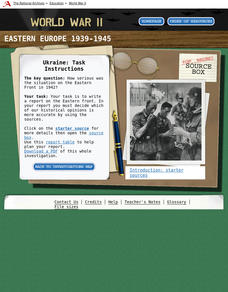 Eastern Europe 1939-45 — Ukraine Interactive