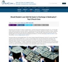 Student Loan Debt Handouts & Reference