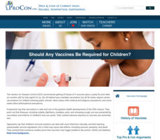 Vaccines for Kids Handouts & Reference