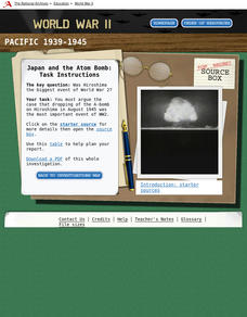 WWII: The Pacific 1939-45 – Japan and the Atom Bomb Interactive