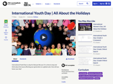 International Youth Day | All About the Holidays Video