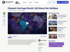 Hispanic Heritage Month | All About the Holidays Video