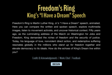 "Freedom's Ring: King's ""I Have a Dream"" Speech Video"
