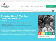 Hurricane Katrina Relief Lesson Plan