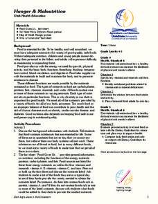 Malnutrition Lesson Plans & Worksheets | Lesson Planet