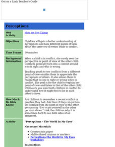 Perceptions Lesson Plan