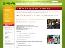 I Am Special and You Are Special Too Lesson Plan