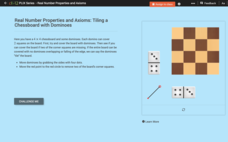 Integers: Tiling a Chessboard with Dominoes Interactive