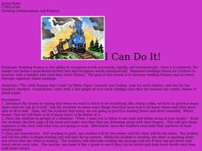 I Can Do It! Lesson Plan