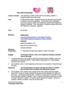 Let's Get Connected Lesson Plan