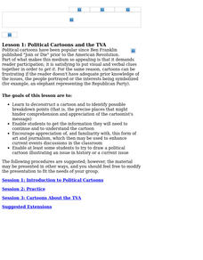 Political Cartoons and the TVA Lesson Plan