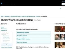 I Know Why the Caged Bird Sings Interactive