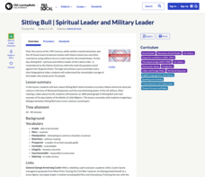 Sitting Bull: Spiritual Leader and Military Leader Lesson Plan