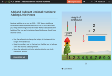 Decimal Addition: Adding Little Pieces Interactive