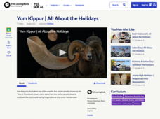 Yom Kippur | All About the Holidays Video