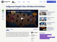 Indigenous Peoples' Day | All About the Holidays Video