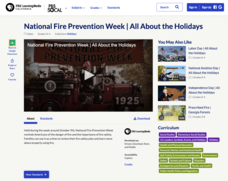 National Fire Prevention Week | All About the Holidays Video