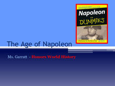 The Age of Napoleon Presentation