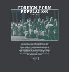Foreign-Born Population 1850-2010 Interactive