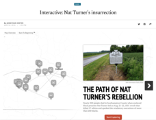 Interactive: Nat Turner's Insurrection Interactive