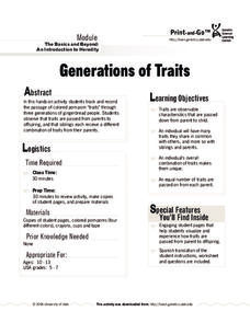 Generations of Traits Activities & Project