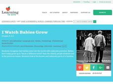 I Watch Babies Grow Lesson Plan