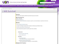 I Will Survive! Lesson Plan
