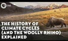 The History of Climate Cycles (And the Woolly Rhino) Explained Video