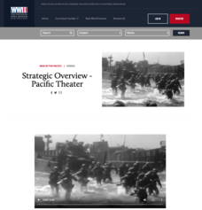 Strategic Overview - Pacific Theater Video