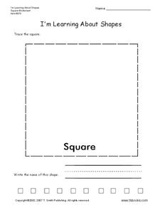I'm Learning About Shapes Worksheet