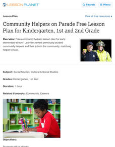 Community Helpers on Parade Lesson Plan
