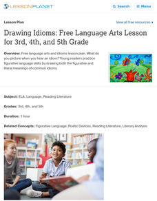 Drawing Idioms Lesson Plan