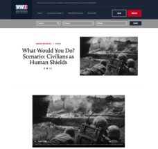 What Would You Do? Scenario: Civilians as Human Shields Video